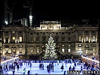 Somerset House in winter
