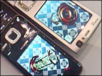 High-powered graphics on Nokia phones