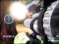 Halo 3 video game screen grab