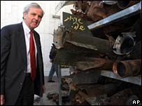 John Holmes in Sderot (17 February 2008_