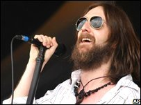 The Black Crowes' Chris Robinson