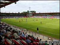 Bournemouth's Dean Court home