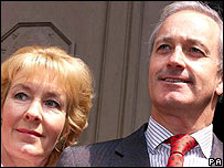 Chritsine and Neil Hamilton