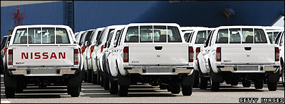 Nissan pick-up trucks