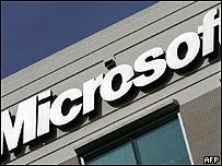 Logotipo de  Microsoft en Hendon, Virginia