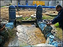 Gaza water plant