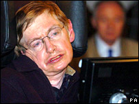 Scientist Stephen Hawking