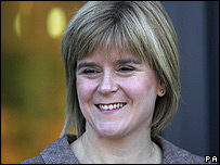 Scotland's Deputy First Minister, Nicola Sturgeon MSP (Photo: Andrew Milligan/PA Wire)