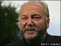 Respect MP for Bethnal Green and Bow, George Galloway MP