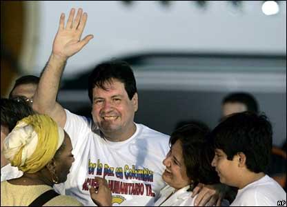 Orlando Beltran Cuellar in Caracas