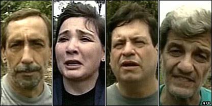 Luis Eladio Perez, Gloria Polanco, Orlando Beltran and Jorge Gechem