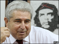 Communist Party leader Demetris Christofias