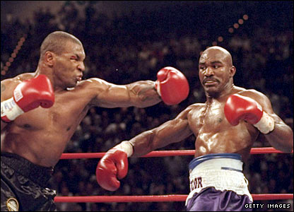 Holyfield evades Tyson in their rematch