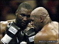 Danny Williams and Mike Tyson
