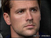 Newcastle striker Michael Owen