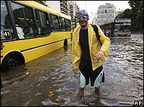 Floods in Buenos Aires 28.02.08