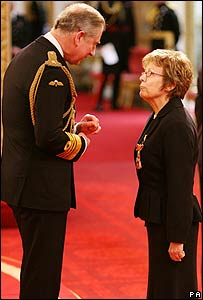 Prince Charles with Julie Walters