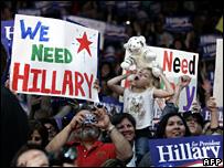 Clinton en Houston, Texas