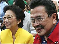 Corazon Aquino and Joseph Estrada 29.02.08