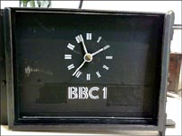 The BBC One clock/ BBC Heritage