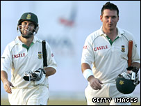 Neil McKenzie (left) and Graeme Smith