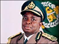 Retired Major-General Paradzayi Zimondi