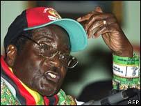 Robert Mugabe 29.02.08