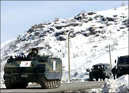 Turkish units pulling out of northern Iraq