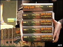 Ejemplares de Harry Potter
