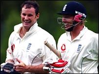 Andrew Strauss (left) and Ian Bell