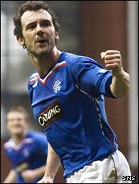 Rangers goalscorer Christian Dailly