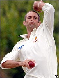 Grant Elliott in action against England