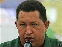 Hugo Chávez (Foto de archivo)