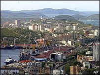 View of Vladivostok