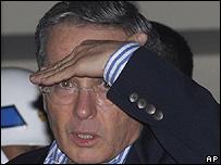 �lvaro Uribe (Foto: 01/03/08)