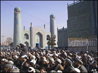 Demonstration against the Dutch film on Islam in Afghanistan
