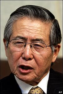 Alberto Fujimori, AP