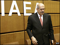 IAEA head Mohamed ElBaradei - 3 March 2008