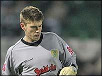 Yeovil goalkeeper Scott Flinders