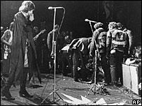 Sir Mick Jagger at Altamont