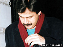 Hasnat Khan, taken in 1996 during his relationship with Princess Diana
