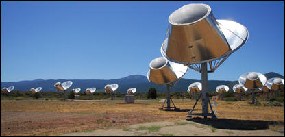 Allen array of telescopes