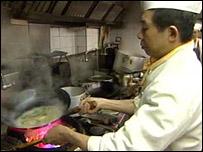 Chinese restaurant worker