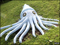 Giant squid model