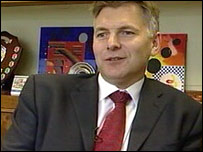 Head teacher Peter Campling