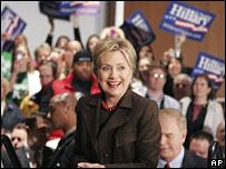 Hillary Clinton campaigns in Toledo, Ohio, 3 March 2008