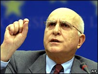 EU Environment Commissioner Stavros Dimas (AP)