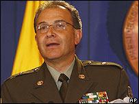 General Oscar Naranjo.