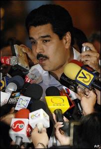 El canciller venezolano, Nicolás Maduro (Foto: Archivo)