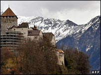 The Castle of Vaduz, Liechtenstein